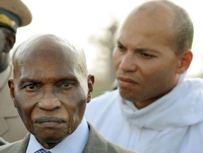 Raison de la candidature pour un troisième mandat : Wade a peur de voir son fils Karim en prison
