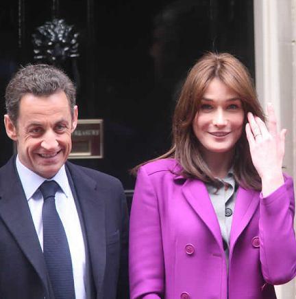 Carla Bruni-Sarkozy : « Mon mari fait ce qu'il veut »