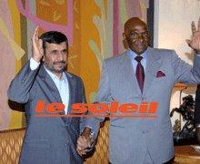 MAHMOUD AHMADINEJAD A DAKAR : Le Sénégal réaffirme son « soutien à l'Iran »