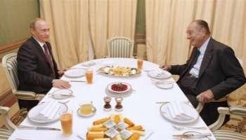 L'Afrique au coeur d'une rencontre Poutine-Chirac