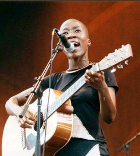 Rokia Traoré en concert à Dakar
