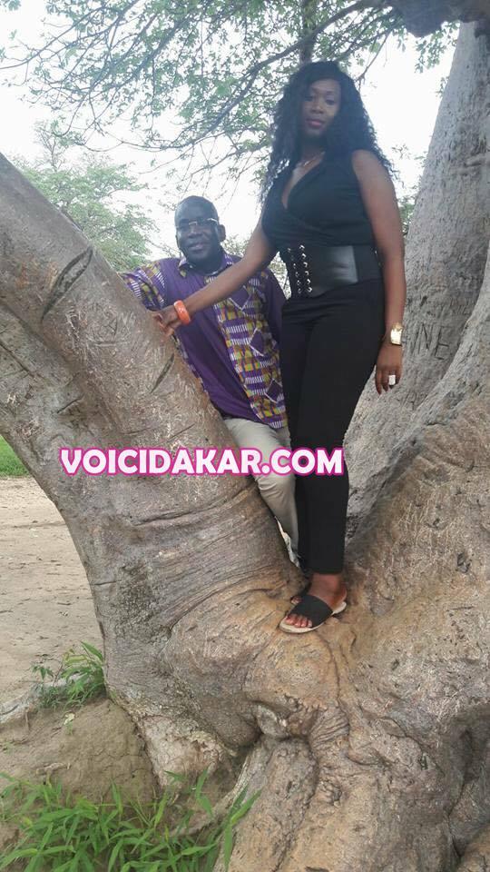 IMAGES INÉDITES: ALIOU SOW ET SA NOUVELLE FEMME ME WADE