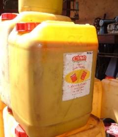 MALGRE L'INTERDICTION D'IMPORTATION: L'huile de palme coule toujours à flot à Tilène