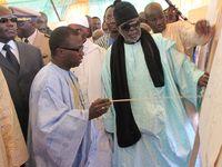 [PHOTOS] Pose de la première pierre de la mosquée Cheikhoul Khadim de Dakar par le khalif