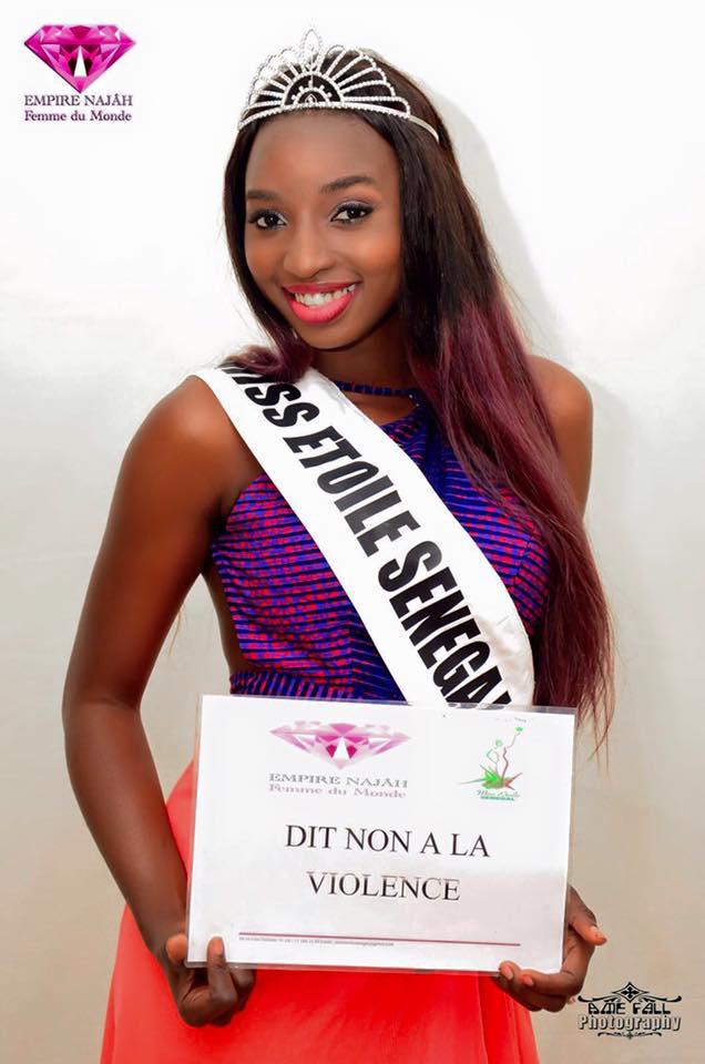 PHOTOS - Miss Monde 2017 : Nar Codou Diouf portera les couleurs du Sénégal en… Sagnsé Sénégalaises lui va à merveille