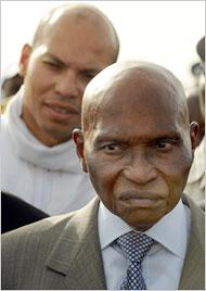 PERSPECTIVES PRESIDENTIELLE 2012: WADE NE LACHE PAS KARIM