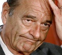 FRANCE : Nouvelle inculpation pour l'ancien président Jacques Chirac