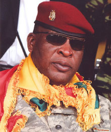 GUINEE: Sékouba Konaté aux commandes
