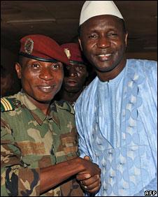 GUINÉE : Dadis Camara accepte un Premier ministre issu de l'opposition