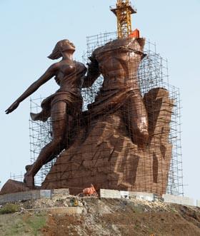 MONUMENT DE LA RENAISSANCE AFRICAINE: Wade décroche un soutien à Touba