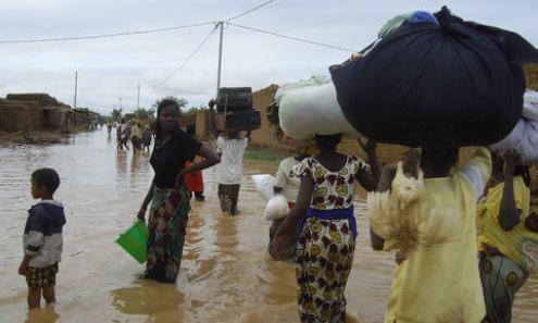 GUINAW RAILS : Les inondations dépeuplent le quartier
