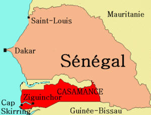 La Guinée Bissau signale l'arrivée de 500 réfugiés casamançais