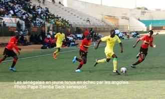 ANGOLA / SENEGAL RETOUR : 28 joueurs convoqués