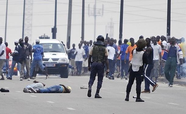 Cote d'Ivoire répression