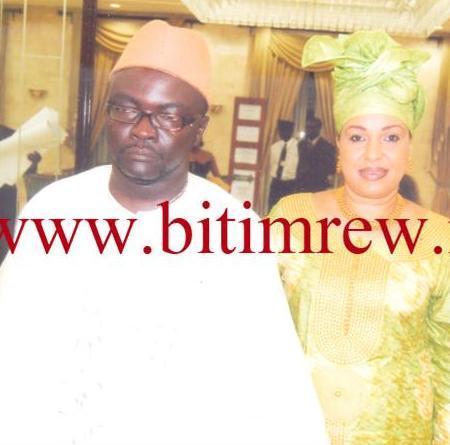 IMAGES EXCLUSIVES: Serigne Bara Dolli Mbacké et sa maitresse Mme Zakia Nasr