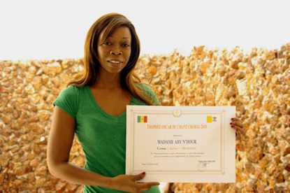 En concert à l'Institut français de Dakar : La chanteuse Aby Ndour marque son coup d'essai