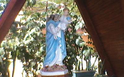 Profanation à l'église des Parcelles assainies : La tête de la statue de la Vierge emportée