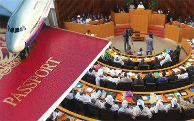 Bamboula au sommet de l'état : Des passeports diplomatiques pour les épouses des députés