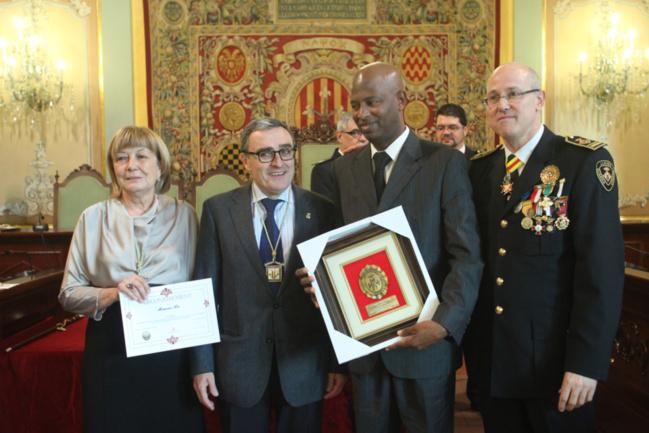 Espagne : Notre compatriote Moussa Ba honoré par les autorités locales de la Province de Lérida.