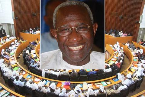 Iba Der Thiam reprend service à l'Assemblée nationale