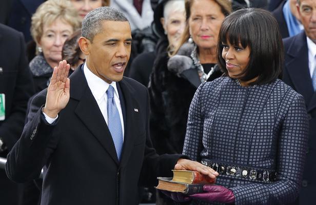 Barack Obama met le cap à gauche dans son discours d'investiture
