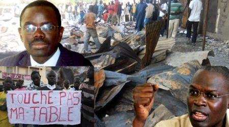Déguerpissement de Marchands ambulants : Khalifa Sall et Pape Sagna Mbaye sur siège éjectable