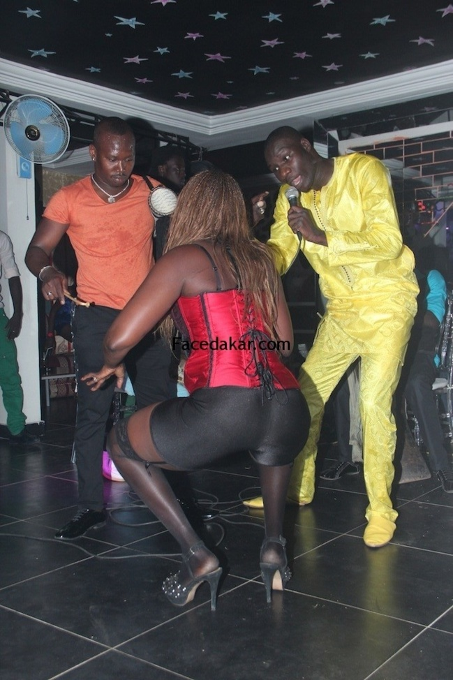 [ PHOTOS ] Ameth Thiou et la danseuse
