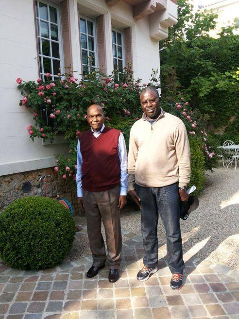 Photos : Abdoulaye Wade affiche la forme à Versailles !