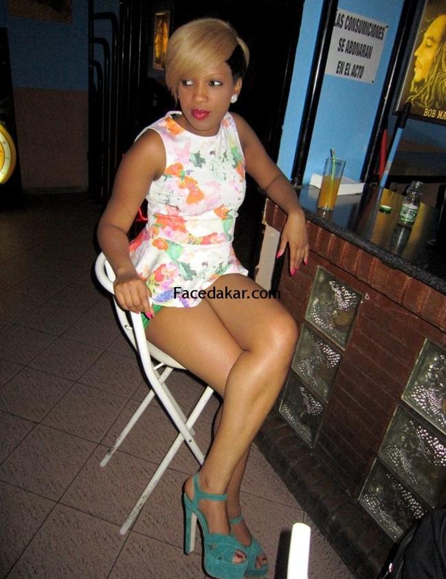 PHOTOS : Fanta Ndiaye, vu de derrière!!!