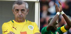 SENEGAL-CDIVOIRE-FOOTBALL-REACTION  Giresse et Diamé gardent l'espoir