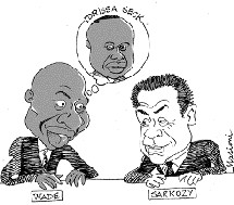 En prélude à sa rencontre avec Sarkozy Wade est prêt à recevoir l'opposition