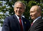 Bouclier anti-missiles : Offre surprise de Poutine à Bush