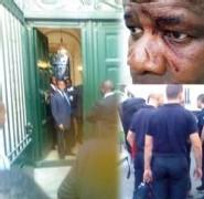 WADE A PARIS: Deux membres de l'opposition blessés par des garde-corps supposés de Wade
