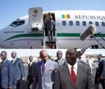 SOMMET DE L'UA: Arrivée du président Wade à Accra