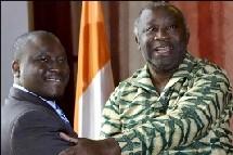 COTE D'IVOIRE: Guillaume Soro et Laurent Gbagbo résolus à aller de l'avant