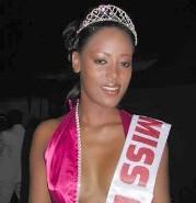 Vanessa Edorh la Sénégalaise d'origine cap verdienne élue Miss Lissa 2007