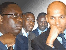 SUCCESSION AU SEIN DU PDS: Macky sall et Karim Wade ouvrent les Hostilités