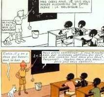 BANDES DESSINÉES: L'album de 'Tintin au Congo' jugé raciste