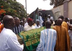 Kébémer : Moustapha Wade enterré aux cimetières Bakhiya