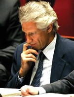 Affaire Clearstream : Dominique de Villepin mis en examen