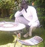 Ousmane MBAYE designer : Du fer à repenser