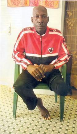 Reportage suite: mamoune guèye, 48 ans, grand blessé de guerre 'j'ai