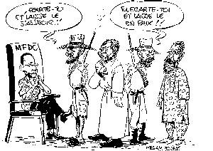 Le président du Mfdc Marsassoum écroué