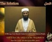 [VIDEO] Dans un nouveau message vidéo Ben Laden met fin aux spéculations sur son sort