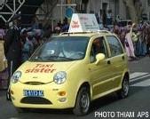 Les « Taxis sisters » dans la circulation: Une dizaine de véhicules en attendant les 2000 prévus