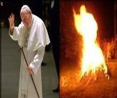 [PHOTO] Apparition : Jean Paul II aperçu dans la forme d'une flamme