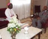LE NOUVEAU CARDINAL THEODORE A. SARR REÇU AU PALAIS : Me Wade salue une distinction pour le Sénégal