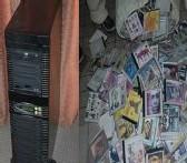 PIRATERIE: Saisie de 18 000 supports piratés et du matériel pour une valeur de 40 millions de FCFA