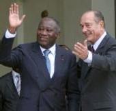 Entretien avec LAURENT GBAGBO PRÉSIDENT IVOIRIEN «Je dors mieux depuis que Chirac n'est plus là»