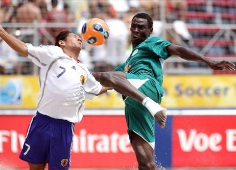 [PHOTOS] Coupe du Monde de Beach Soccer: Le Sénégal bat le Japon par 4 buts à 1 (Photos de la rencontre)